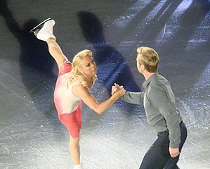 Torvill and Dean - Torvill and Dean on the Dancing on Ice tour in Manchester, 2011
