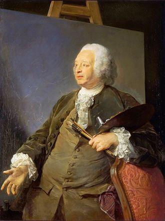 Jean-Baptiste Oudry - Jean-Baptiste Oudry, by Jean-Baptiste Perronneau.
