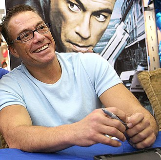 Jean-Claude Van Damme - Van Damme at Until Death event in 2007.