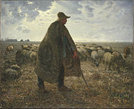 Jean-François Millet - Shepherd Tending His Flock - Google Art Project.jpg