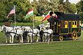 Jean Luc Bacle (Sarthe) en diligence mondial du cheval percheron 2011 Cl J Weber02 (23455228264).jpg