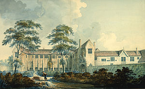 Whitefriars, Coventry - The Whitefriars buildings in 1794.