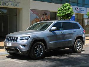 Jeep Grand Cherokee Википедия
