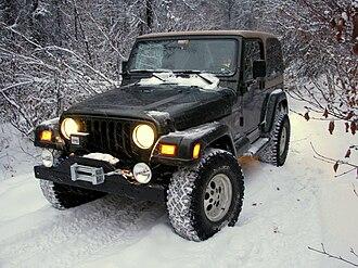 Jeep Wrangler - A modified 98 TJ offroading in Alaska