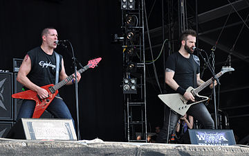 Jeff Waters and Dave Padden of Annihilator at Wacken Open Air, 2013 Jeff Waters and Dave Padden at Wacken Open Air 2013.jpg