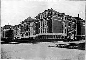 Jefferson High School (Portland, Oregon) - Photo from circa the 1910s