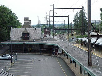 Jenkintown–Wyncote station - Image: Jenkintown Station view