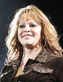 Jenni Rivera al Pepsi Center di Denver nel 2009.