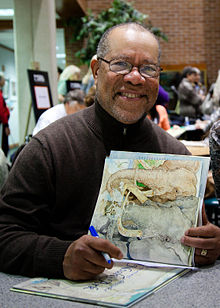 Pinkney at the Mazza Museum in 2011