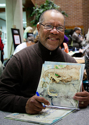 Jerry Pinkney - Pinkney at the Mazza Museum in 2011