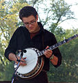 Jessie Baker picking his banjo.jpg