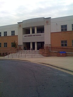 John F. Kennedy High School (Montgomery County, Maryland) high school in Silver Spring, Maryland, United States
