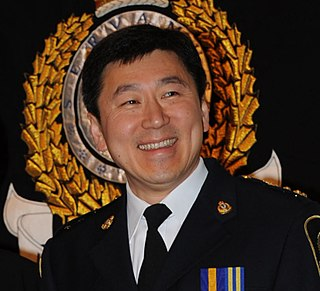 Jim Chu Canadian police chief
