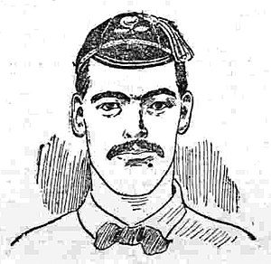 Jim Valentine - Jim Valentine, 1904 illustration from The Manchester Courier