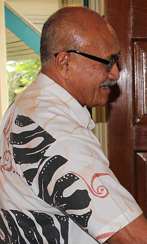 President of Fiji - Image: Jioje Konrote January 2015