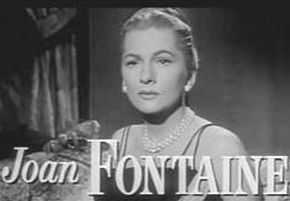 Description de l'image Joan Fontaine in Beyond A Reasonable Doubt trailer.JPG.