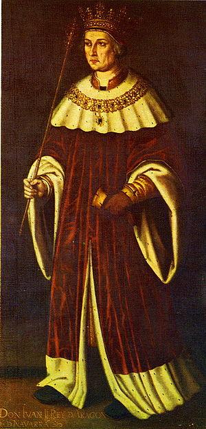 Catalan Civil War - Late sixteenth-century image of John II of Aragon.