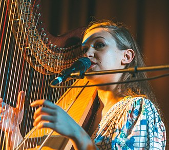 Joanna Newsom - Newsom performing in 2010