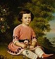 Johan Erik Lindh - F. M. Maexmontan as a Child - A III 2698 - Finnish National Gallery.jpg
