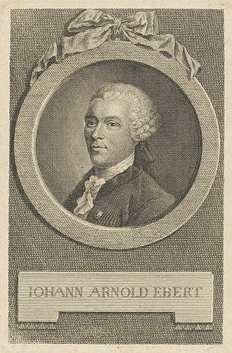 Johann Arnold Ebert - Johann Arnold Ebert