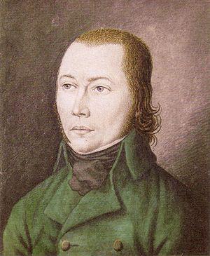 Schinderhannes - Johannes Bückler, Painting by K. H. Ernst (1803)