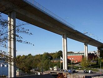 Johanneshovsbron - Johanneshovsbron in Stockholm 2008