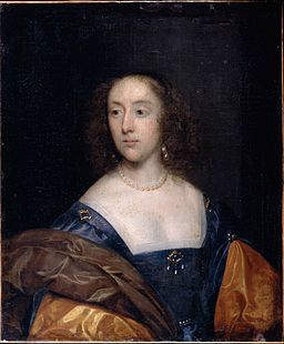 Johnson, Cornelius the elder - Portrait of a Lady in Blue - Google Art Project