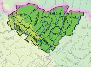 Joniškis District Municipality - Image: Joniskio Rajono Seniunija