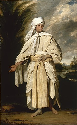 Omai - Sir Joshua Reynolds, Portrait of Omai, a South Sea Islander who travelled to England with the second expedition of captain Cook, 1776