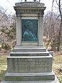 Josiah Gilbert Holland Monument (by Augustus Saint-Gaudens), Springfield Cemetery, Springfield, MA.jpg