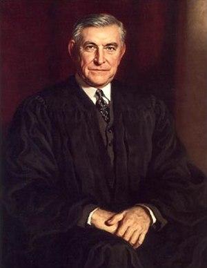 Associate Justice Owen J. Roberts. The balance...