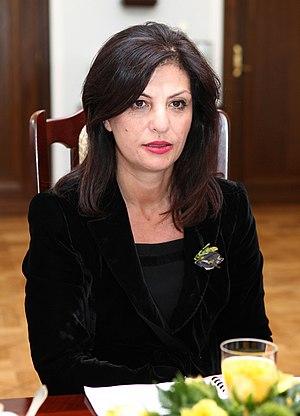 Jozefina Topalli - Image: Jozefina Topalli Senate of Poland