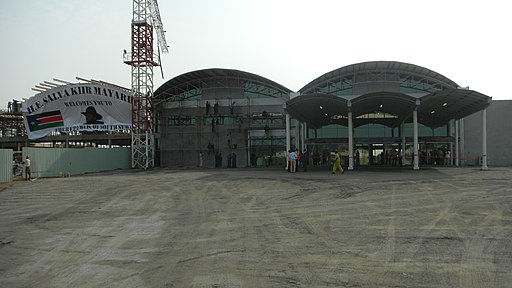 Juba Airport under construction