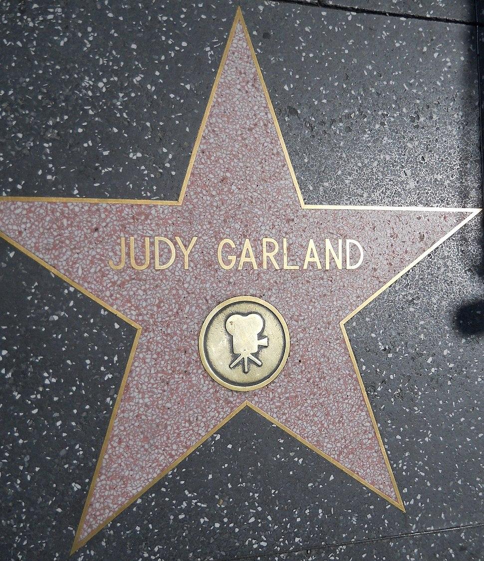 Judy Garland star HWF
