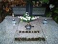 Junikowo Cemetery, Poznan, tomb (Józef Węglarz, prof.).jpg