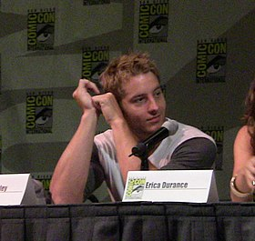 L'acteur Justin Hartley au Comic-Con 2009 le 26 juillet 2009.