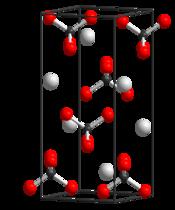 Crystal structure of potassium pertechnetate