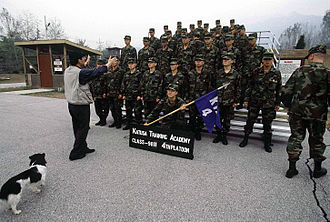 Korean Augmentation To the United States Army - KATUSA training academy