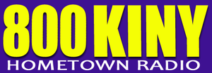 KINY - Logo from June 2008 until late 2012.