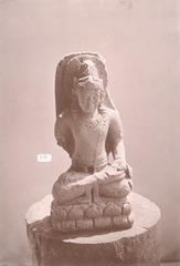 KITLV 87589 - Isidore van Kinsbergen - Hindu-Javanese sculpture coming from the Dijeng plateau - Before 1900.tif