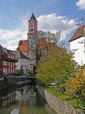 Krumbach, Bavaria - Image: KRU St Michael