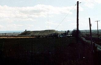 KSLL - The broadcast tower for KSLL, located near Wellington, Utah.