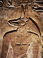 KV17, the tomb of Pharaoh Seti I of the Nineteenth Dynasty, Chamber I (so-called Room of Beauties), detail of Anubis, Valley of the Kings, Egypt (49846644662).jpg