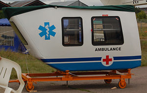 Kamov Ka-226 - Ka-226 ambulance module