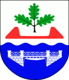 Coat of arms of the municipality of Kaaks