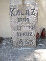 Kalaz zum heiligen Kreuz. 1863, 2018 Budakalász.jpg
