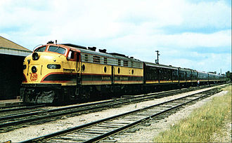 Southern Belle (KCS train) - The Southern Belle in 1959
