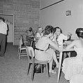 Kantine met leden van het toneelgezelschap Habima, Bestanddeelnr 255-4538.jpg