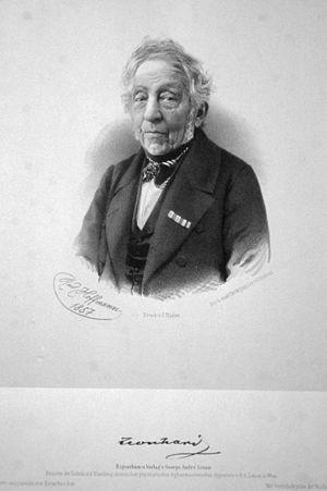 Karl Cäsar von Leonhard - Karl Cäsar von Leonhard (1857 lithograph)