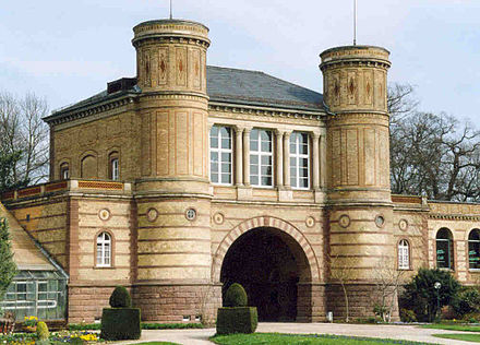 Gate house of the Botanischer Garten
